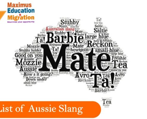 Some of the widely used Australian words and phrases are listed here !!